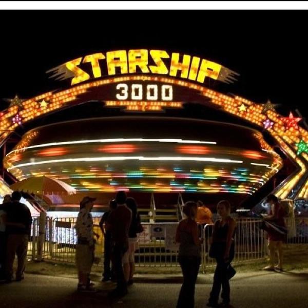 Starship 3000 at the #fair. #btv #vt