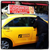 Sorry Dude! I'm a taxi driver, not a flash dancer! #nyc