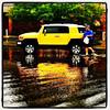 Talk About Getting Your Feet Wet! #miltonvt #vt