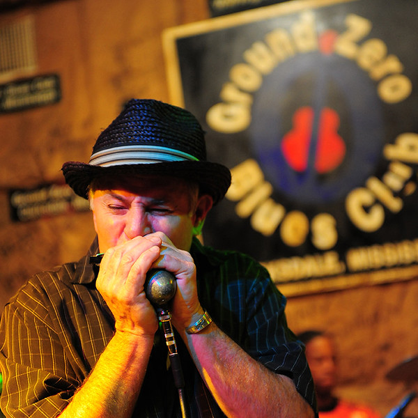USA Mississippi Clarksdale-Ground Zewro Blues Club-Stan Street & Hambone Blues Band