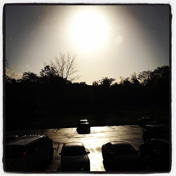 Good Morning Milford CT. #sunrise #silhouette #travel