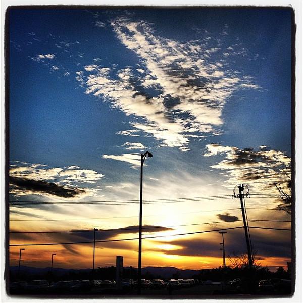Friday Sunset. #btv #vt