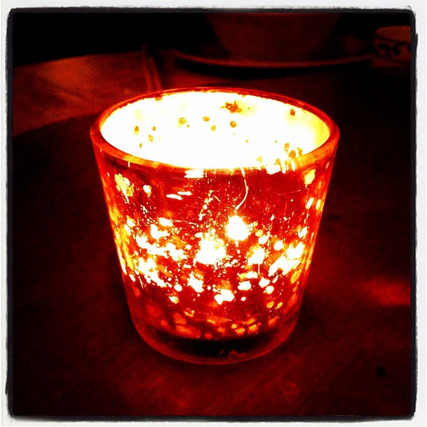 Candlelight dinner. #btv #vt