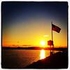 Golden Touch For The Red, White & Blue. #miltonvt #vt #sunset