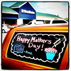 "Saw this #sign on a car today at the local Staples. ""Happy Mother's Day"""