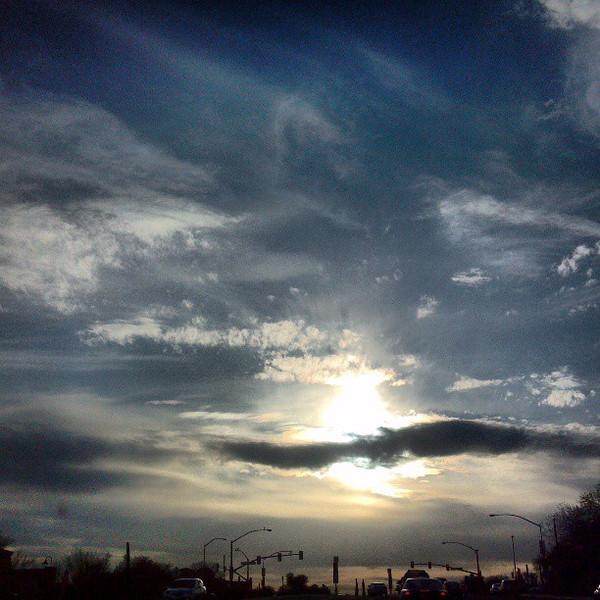 "#clouds #sky #tucson #az via Instagram <a href=""http://instagram.com/p/XYbuBNiinO/"">http://instagram.com/p/XYbuBNiinO/</a>"