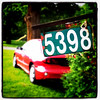 The Price is Right? Nah, just the house number! #everton #ontario #canada #numbers #car