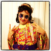 Hippie Girl. Peace! Happy #Halloween!