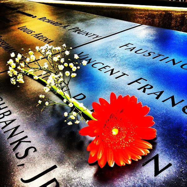 How Some Remember Their Loved Ones. #wtc #sept11 #911 #nyc