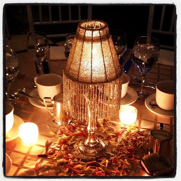 Table setting at Indian banquet. #party #boston #diwali