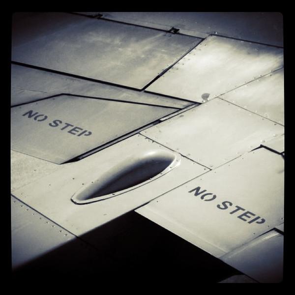 Step right up! #plane #flight #aircraft #aviation #nofilter