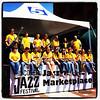 Milton High School Jazz Band at #BTV Jazz Festival 2012. #vt bdjf