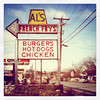 Al's French Fries - A #Vermont icon! #btv #VT #landmark #fries #food #sign