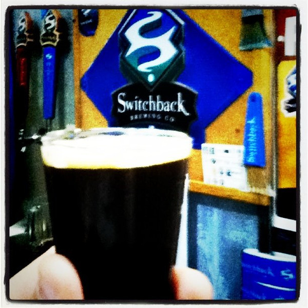 Switchback Porter. The seasonal only brew.