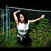 Rhiannon styling at the #fence. #model #woman #girl #hotstuff #sexy #btv #VT #Vermont #eyecandy