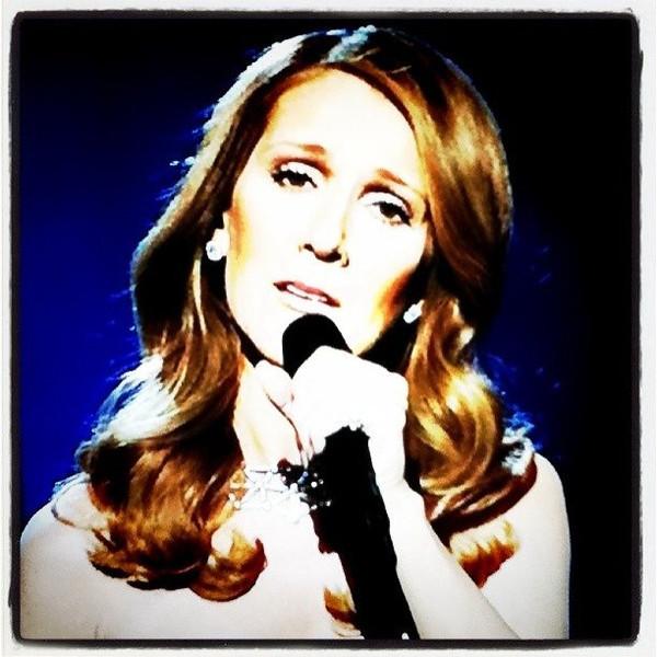 The always dramatic Celine!
