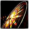 Ferris Wheel at the Fair. Slow shutter captured handheld. #fair #fairground #btv #VT #slowshutter #lights #awesome