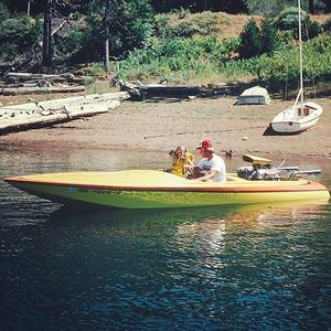 Summer fun at Lake Almanor - 1979 @ronfunfar @whsmsfunfar via Instagram http://ift.tt/1LJ4svC