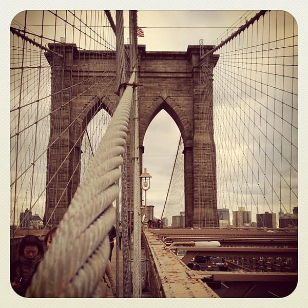 Brooklyn Bridge, #NYC. #landmark #newyork #bridge