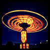 YoYo ride at the fairground. #awesome #slowshutter #amazing #lights #vt #btv #popular #fair