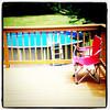 Summer lovin. A deck and a pool. #summer #fun #milton #vt