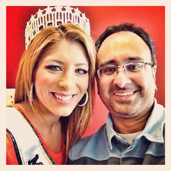 Hanging with Miss Vermont 2012, Jamie Dragon.