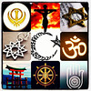 Check out my daughter's awesome collage creation on religion, tolerance, sensitivity, love, humanity, and peace. She is @gurshan. Give her some follow love. Cheers!
