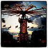 YoYo ride at sunset. #btv #vt #fair