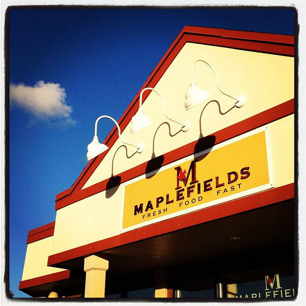 Pit Stop at Maplefields. #btv #vt