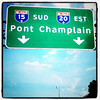 Champlain Bridge Montreal. #travel #sign #canada