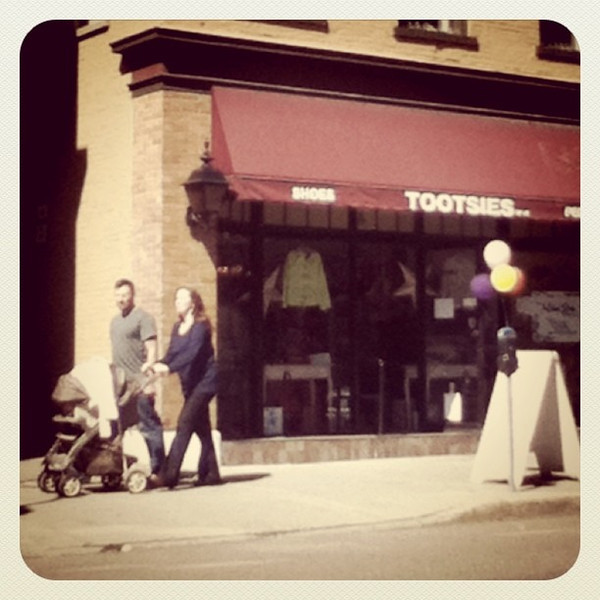 Tootsies huh! #btv #VT #store #downtown #family