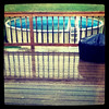 Shiny water. #rain #pool #water