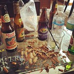Last nights remanence... Dads got a hangover via Instagram https://instagram.com/p/1YmbxiyfP6/