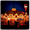 Merry-Go-Round at night. #btv #vt