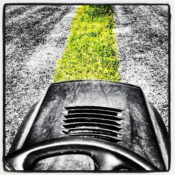 One More Strip to Mow! #miltonvt
