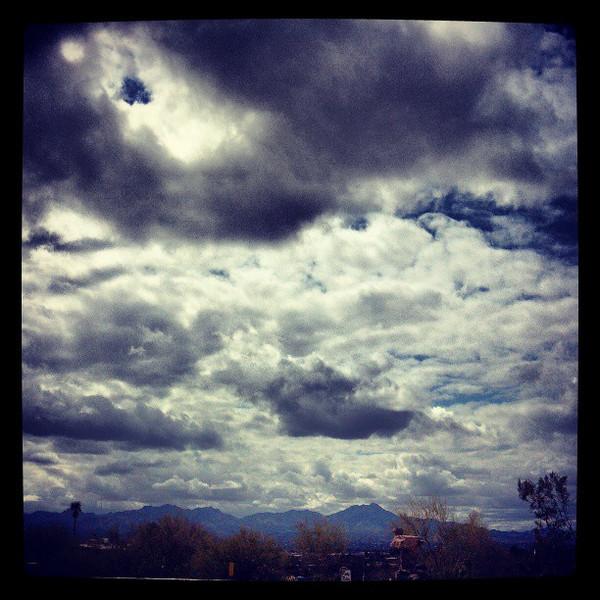 "#clouds #sky #tucson #az via Instagram <a href=""http://instagr.am/p/Wpv7O9Cit2/"">http://instagr.am/p/Wpv7O9Cit2/</a>"