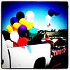 Balloons at the #parade. #4thofjuly #btv #Milton #vt #fun