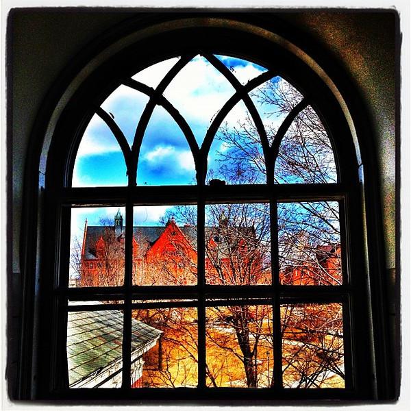 As Seen Through a Window. #btv #vt