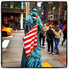 Lady Liberty Wanna-be! #nyc #statue