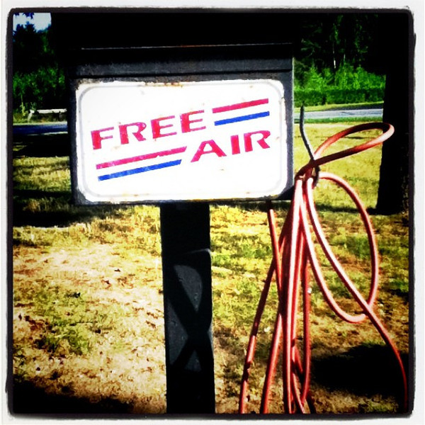 Free air! And then there are some who shouldn't have it.