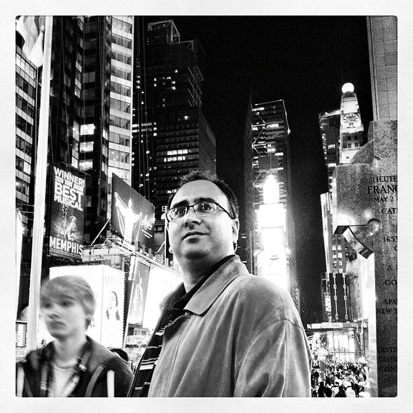 Just me in Times Square, New York City. #nyc