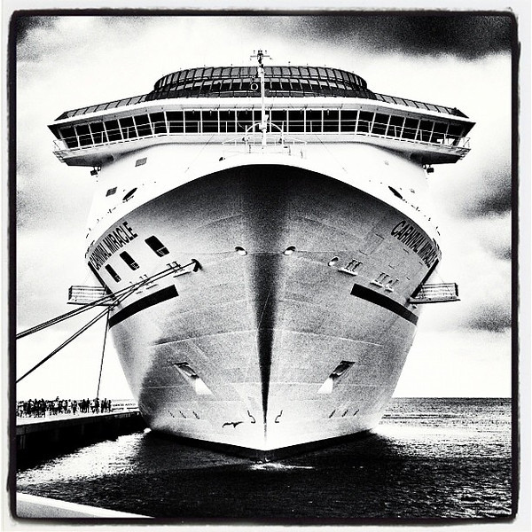 Carnival Miracle in Grand Turk.