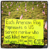 6313! Too many and very sad. #patriotic #soldiers #btv #vt #usa