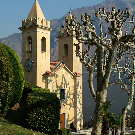Italy, Lake Como, Church