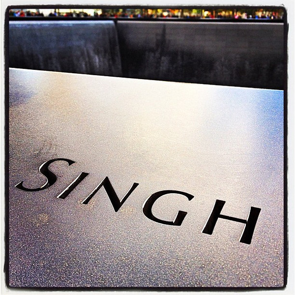 Even Sikhs were killed on 9/11! #nyc #911memorial #singh #sikh