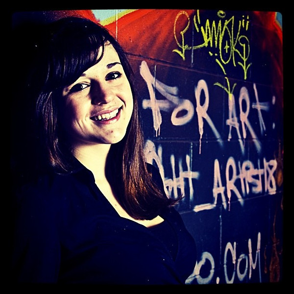 Working it with some graffiti. #model #girl #woman