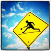 How did the ball cross the road? #sign #funny #travel #canada
