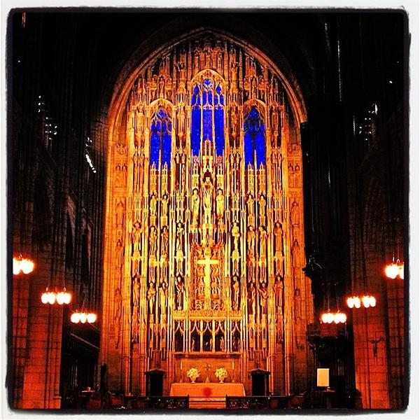 Peace & Beauty on Fifth Ave. #nyc #church