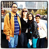 Mi Familia at 9/11 Memorial Park, New York City. #nyc