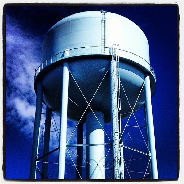 Burlington's Famous Water Tower. #btv #vt